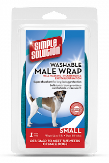 WASHABLE WRAP FOR MALE DOGS