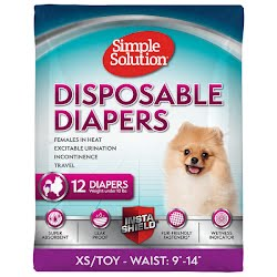 DISPOSABLE DIAPERS X-SMALL TOY